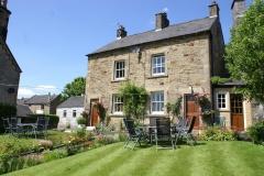 Beech Cottage and Birch Cottage gardens